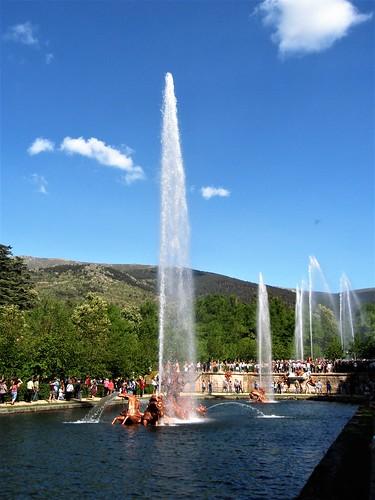 Fuente Carrera de Caballos, Palacio Real Granja de San Ildefonso - Segovia