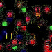 Colored lights fractal