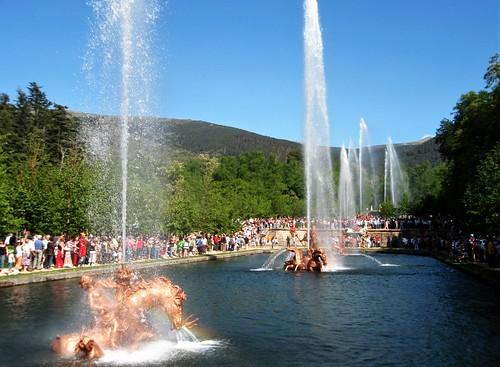 Fuente Carrera de Caballos, Palacio Real Granja de San Ildefonso - Segovia.