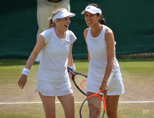 Anne Keothavong - Tracy Austin & Anne Keothavong