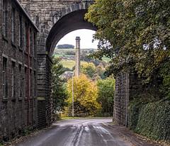 Photo of Slaithwaite Kirklees West Yorkshire 17th October 2020
