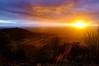 Last light on England's Finest View