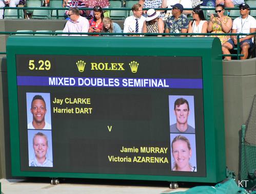 Victoria Azarenka - Mixed doubles semi-final