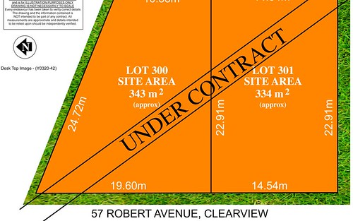 Lot 300 and 301, 57 Robert Ave, Clearview SA