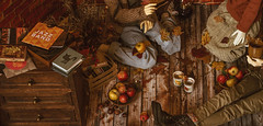 Samhain I - apples, music, cocoa