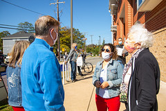 "Early voting in Arlington Oct 2020 • <a style=""font-size:0.8em;"" href=""http://www.flickr.com/photos/117301827@N08/50502103086/"" target=""_blank"">View on Flickr</a>"