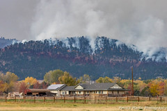 October 17, 2020 - The Cal-Wood Fire in the foothills. (Patrick Martin)