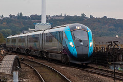 Photo of TransPennine Express 802215 seen coming into Huddersfield on a Newcastle to Manchester Victoria service