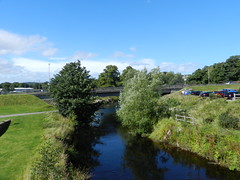 Photo of River Lossie, Elgin, Aug 2020