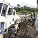 UNMISS braves poor roads, inclement weather and damaged vehicles to complete road patrol to Kajo Keji