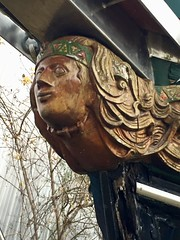 Figurehead of sailing boat