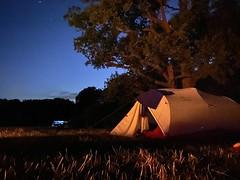 Camping at Etherley Farm