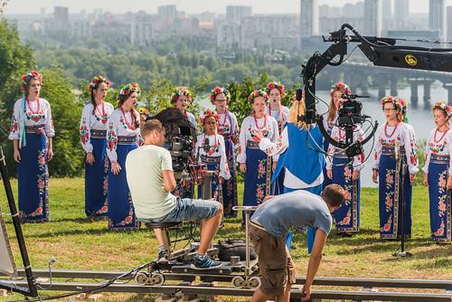 Choir Singing Ukrainian National Anthem II