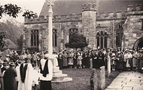 Dedication Service 1957