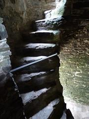 Photo of Unrestored stairway in Kidwelly Castle_