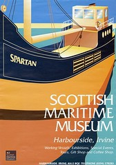 Photo of Spartan Scottish Maritime Museum poster - 1990s.
