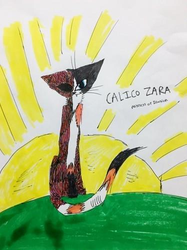 Ellie Morales Calico Zara Mistress of Illusion
