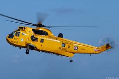 Photo of RAF Search and Rescue WS61 Sea King HAR3 XZ588/D; D Flight, 202 Squadron, RAF Lossiemouth, Moray, Scotland