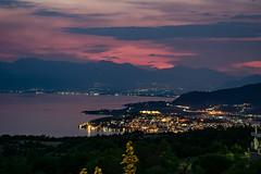 Night Cityscape of Ohrid