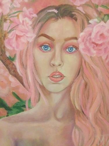 Marion Jones Pink Person