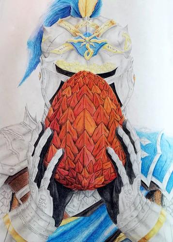 Luke Pinter Knight and Dragon Egg
