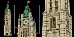 Canadian Parliament Buildings - WIP Peace Tower