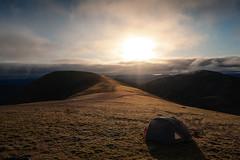 Wild camping on Carn nan Gabhar