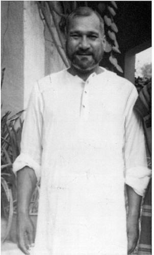 Young Bhai Sahib at His House Circa 1951