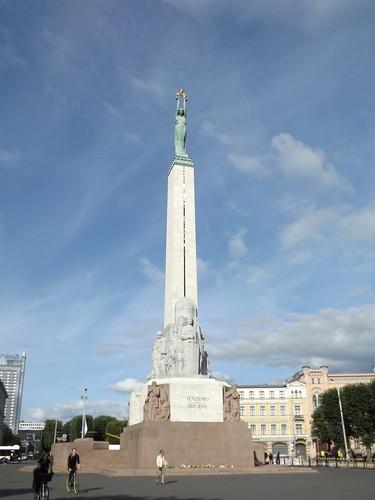 Brīvības piemineklis, Riga, Latvia