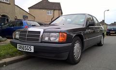 Photo of Mercedes Benz 190 E. West Oxfordshire UK.