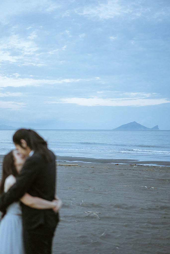 自助婚紗,自主婚紗,生活感婚紗,女攝影師,自然風格,自然風格婚紗,旅拍婚紗,宜蘭,壯圍海邊,雙子小姐