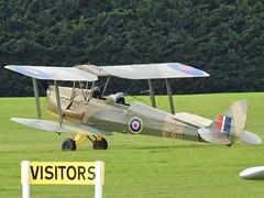 Photo of G-AXXV/ DE992 DH82A Tiger Moth at White Waltham