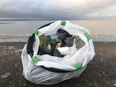 Photo of Thursday mornings beach clean