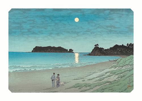 23-Affiche // A3 // Moonlight at Shichiri