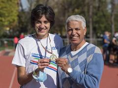 Eleonora Vandi con Faouzi Lahbi