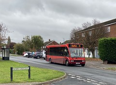 Photo of Grant Palmer 105 on the 1256 79 from Luton Interchange to Shefford, High Street in Windsor Road, Barton-le-Clay on Saturday 24 October 2020