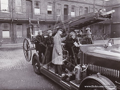 Photo of Fire Brigade Headquarters, Belfast 1943