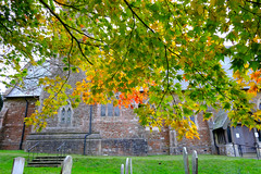 Photo of St Mary's.. Ide Hill in Autumn