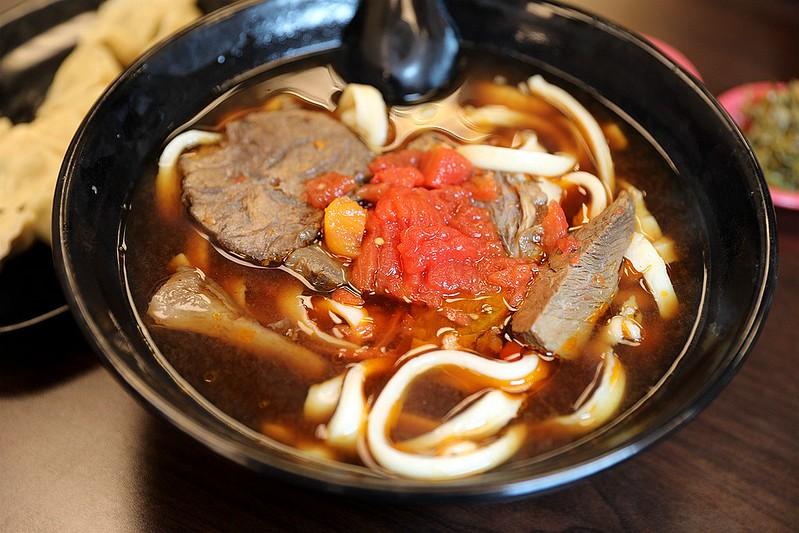 山西番茄牛肉刀削麵台北松山路好吃牛肉麵15