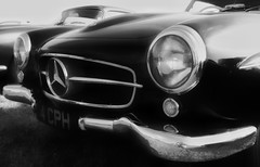 Photo of Mercedes Benz at Goodwood.