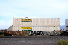 Freight Graffiti - Mormon Rocks (10-23-2020)
