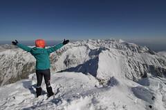 Krivan (2494 m) hiking trip, High tatras, Slovakia
