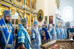 25/10/2020 - Архипастыри БПЦ совершили Божественную литургию в Жировичской обители