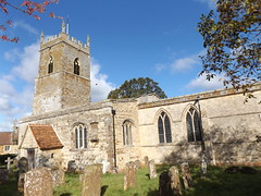 Photo of St Mary the Virgin Church, Wappenham, Northamptonshire, 11 October 2020