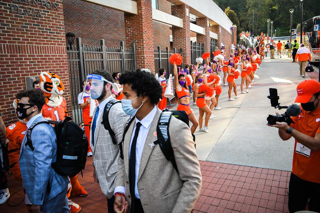 Clemson Photos: Braden  Galloway, tigerwalk, 2020, Football, Syracuse
