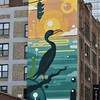 Bird Mural in Uptown Chicago