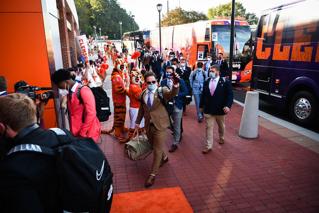 Clemson Photos: tigerwalk, 2020, Football, Syracuse
