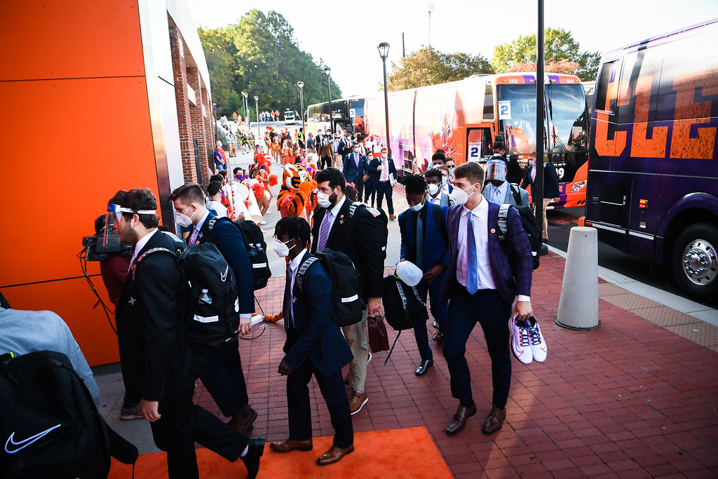 Clemson Photos: tigerwalk, 2020, Football, Syracuse