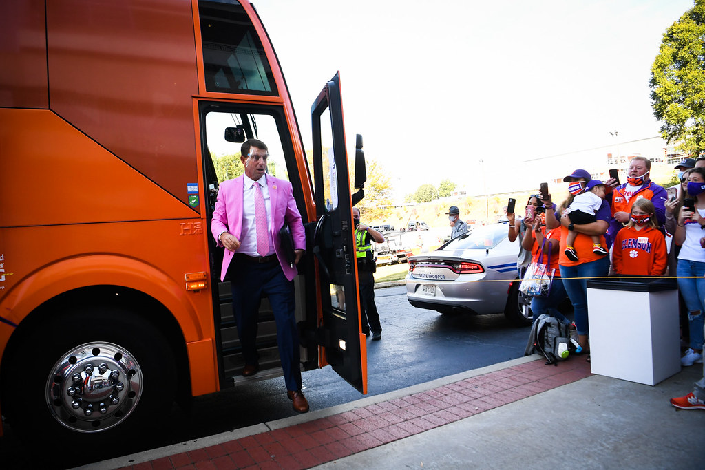 Clemson Photos: Dabo  Swinney, tigerwalk, 2020, Football, Syracuse