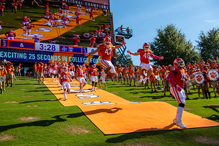 Syracuse at No. 1 Clemson Photos